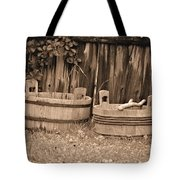 Wooden Buckets Tote Bag