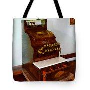 Wooden Cash Register Tote Bag