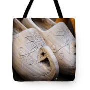 Wooden Clogs Tote Bag