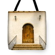 Wooden Colonial Style Door Tote Bag