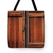 Wooden Doors Tote Bag