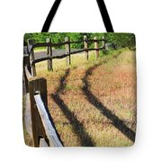 Wooden Fences Tote Bag