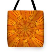 Wooden Flower Tote Bag