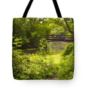 Wooden Foot Bridge Tote Bag
