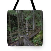 Wooden Forest Trail  Tote Bag