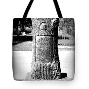 Wooden Grave Tote Bag
