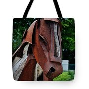 Wooden Horse12 Tote Bag