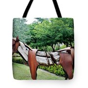 Wooden Horse22 Tote Bag