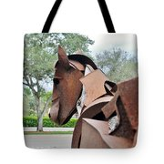 Wooden Horse26 Tote Bag