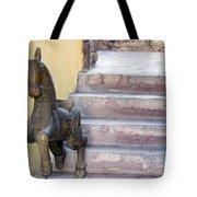 Wooden Horses 2 Tote Bag
