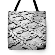Wooden Islamic Carving Tote Bag