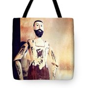 Wooden Man Tote Bag