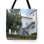 Wooden Porch Tote Bag