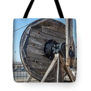 Wooden Pully Tote Bag