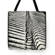 Wooden Sculpture In Palm House Kew Gardens Tote Bag