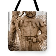 Wooden Sherwood Forest Carving Tote Bag