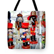 Wooden Soldiers Tote Bag