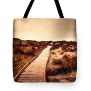 Wooden Steps Tote Bag