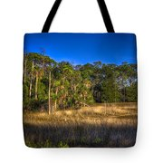 Woodland And Marsh Tote Bag by Marvin Spates