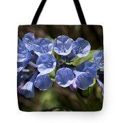 Woodland Blue Tote Bag