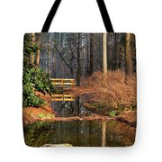 Woodland Bridge 2014 Tote Bag