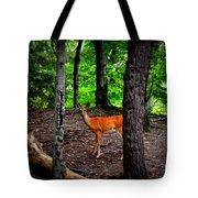Woodland Deer Tote Bag