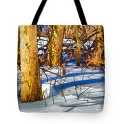 Woodland Graphic Tote Bag