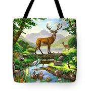 Woodland Harmony Tote Bag