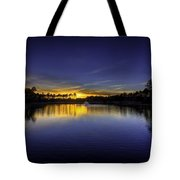 Woodland Park Sunset Tote Bag