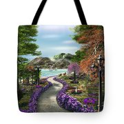 Woodland Path Tote Bag