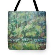 Woodland Pond Tote Bag