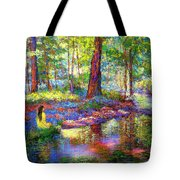 Woodland Rapture Tote Bag by Jane Small