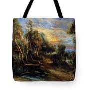 Woodland Scenery Tote Bag