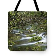 Woodland Stream - Monk's Dale Tote Bag