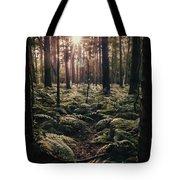 Woodland Trees Tote Bag