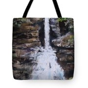 Woodland Waterfall Tote Bag by Jack Skinner