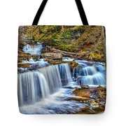 Wateralls In The Woods Tote Bag