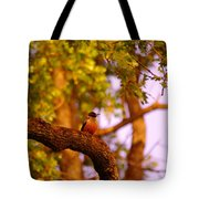 Woodpeckers Of Fort Simcoe Tote Bag