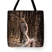 Woods Of Terror Tote Bag