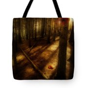 Woods With Pine Cones Tote Bag by Meirion Matthias
