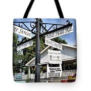 Woodstock Crossroads Tote Bag
