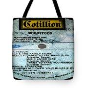 Woodstock Side 5 Tote Bag