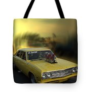 Woodward Ave Michigan Tote Bag