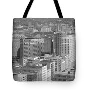 Woodward Avenue Bw Tote Bag