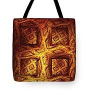 Woodwork Tote Bag