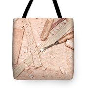 Woodwork Tote Bag by Tom Gowanlock