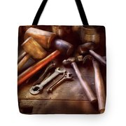 Woodworker - A Collection Of Hammers  Tote Bag