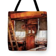Woodworker - Old Workshop Tote Bag