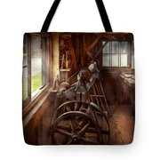 Woodworker - The Art Of Lathing Tote Bag