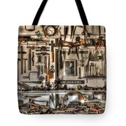 Woodworking Tools Tote Bag